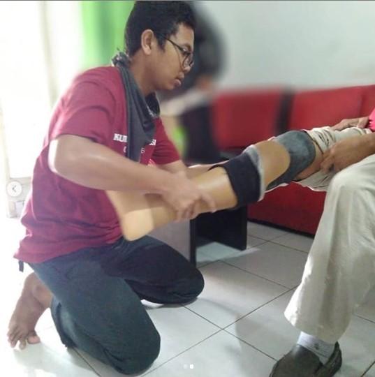 Kaki Palsu Untuk Kaki Yang Masih Skingraft Akibat Diabetes